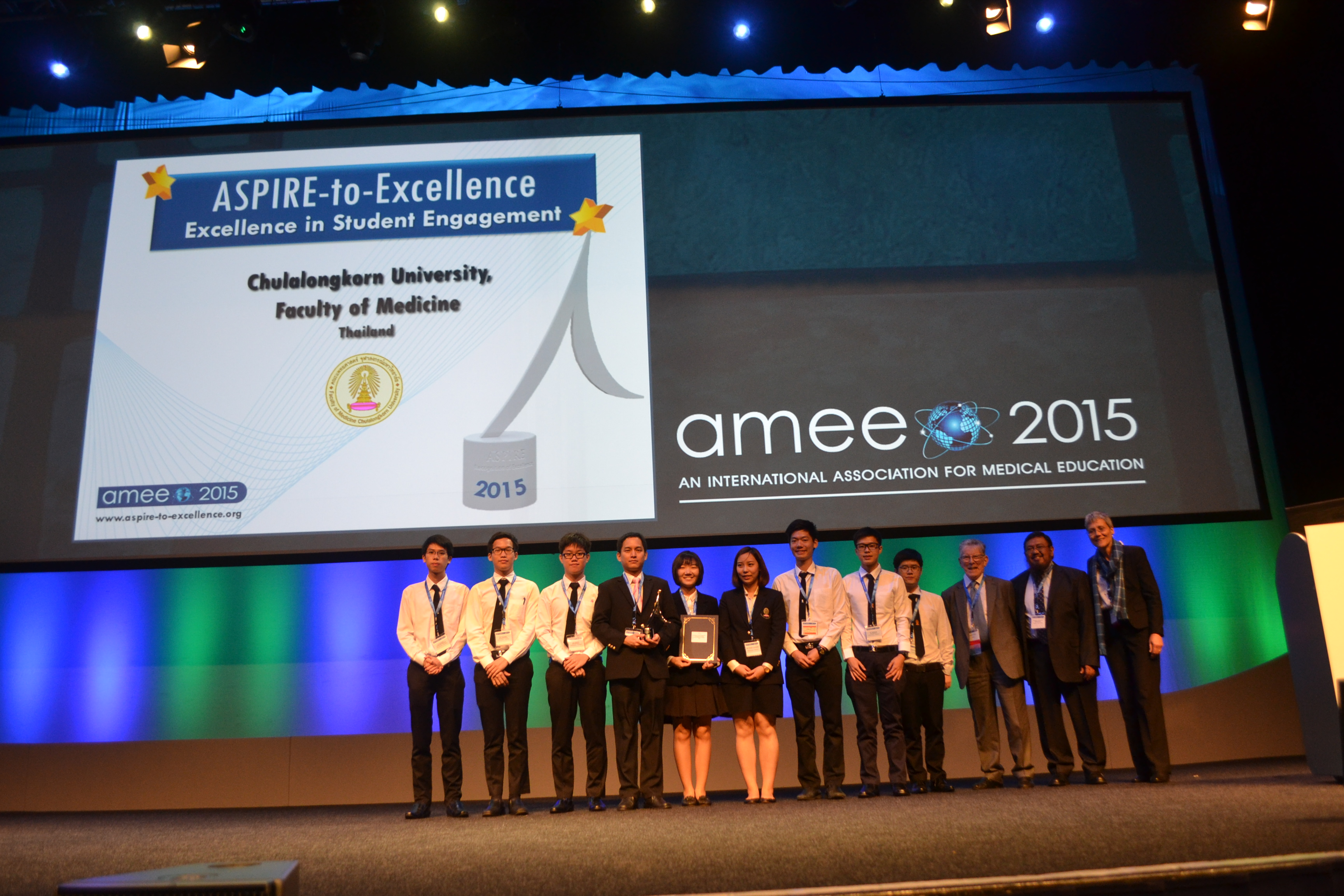 AMEE 2015 - ASPIRE-to-Excellence Student Awards - 054_Chulalongkorn.JPG
