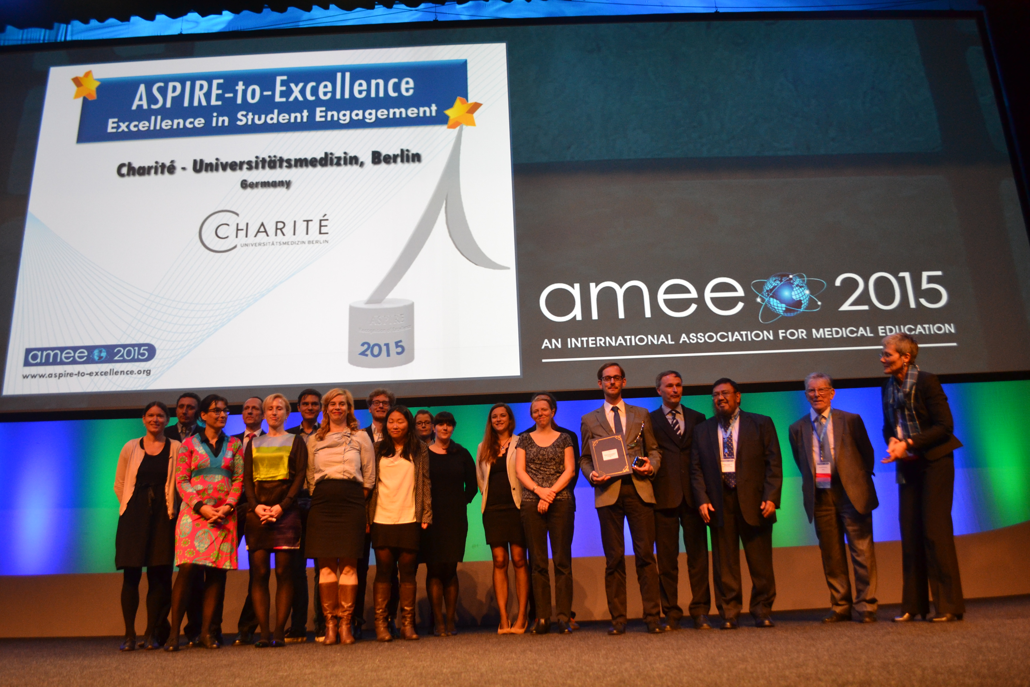 AMEE 2015 - ASPIRE-to-Excellence Student Awards - 011_Charite.JPG