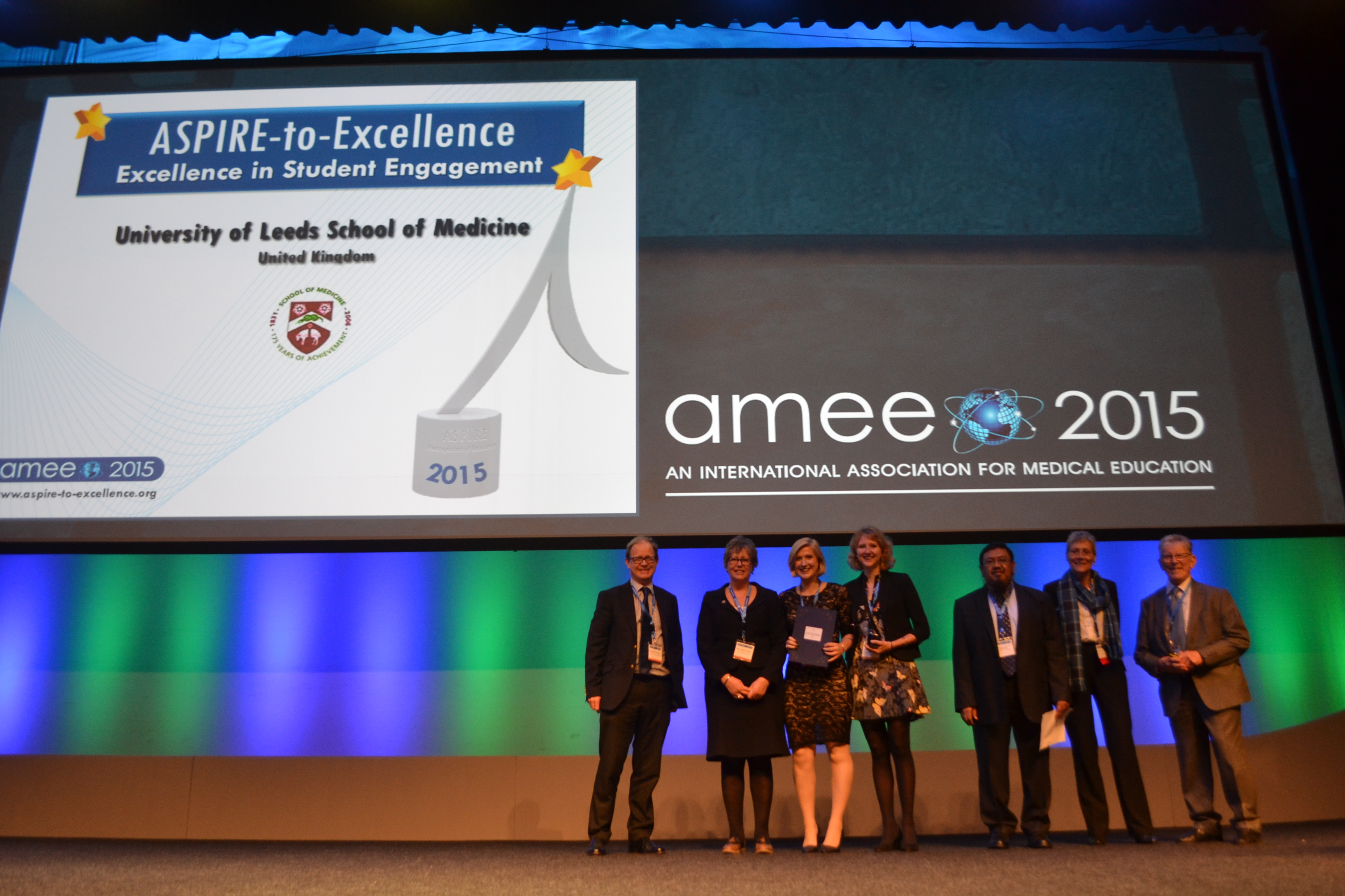 AMEE 2015 - ASPIRE-to-Excellence Student Awards - 017_Leeds.JPG
