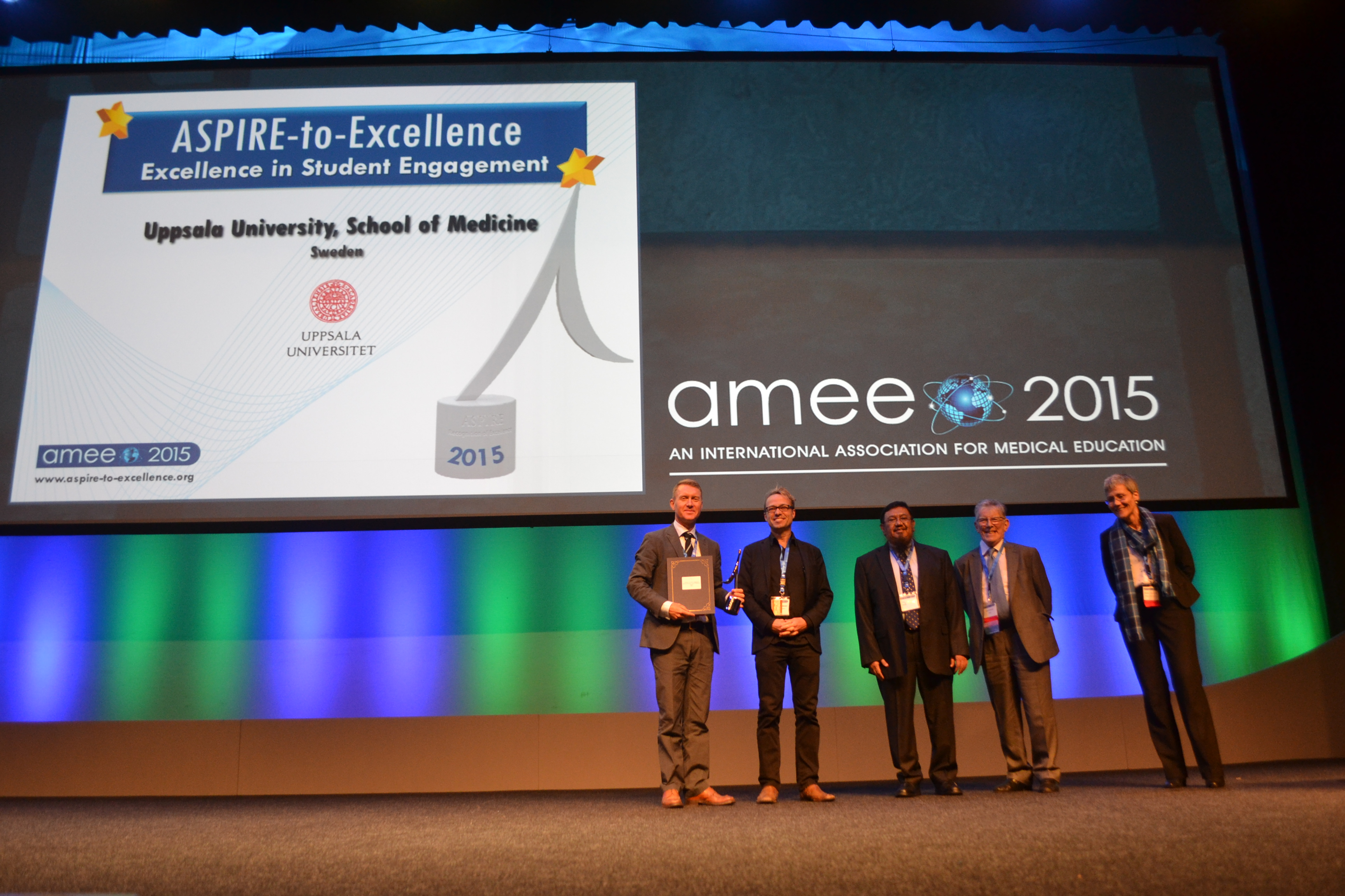 AMEE 2015 - ASPIRE-to-Excellence Student Awards - 037_Uppsala.JPG